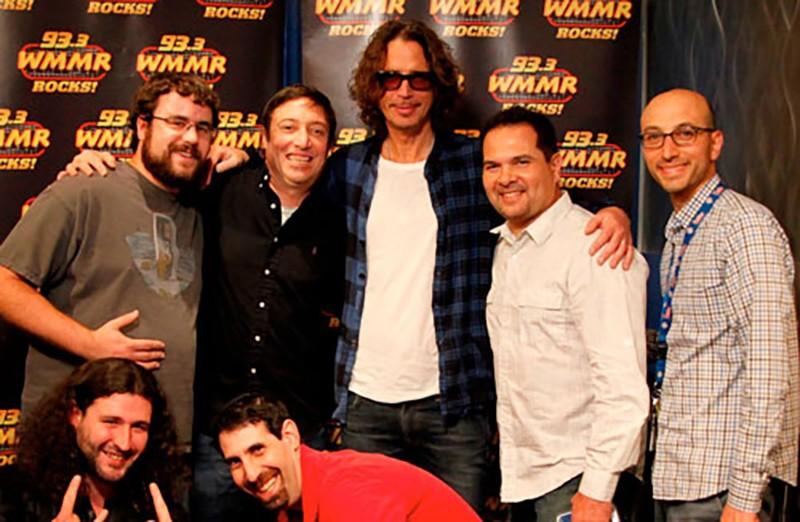 Dan Fein with Chris Cornell