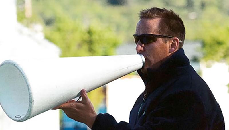 Chris Kerber learned yelling somewhere