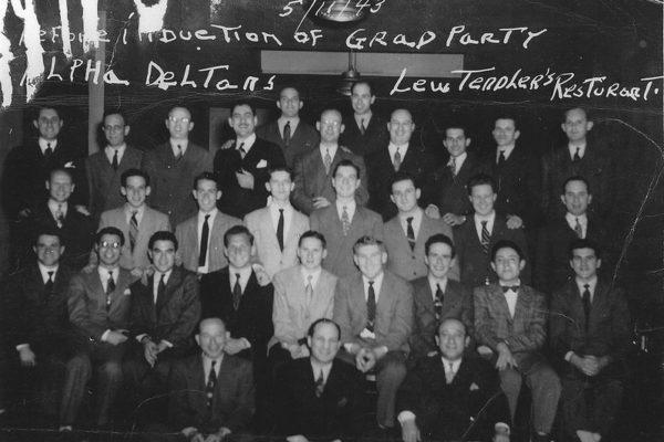 1943 grad party