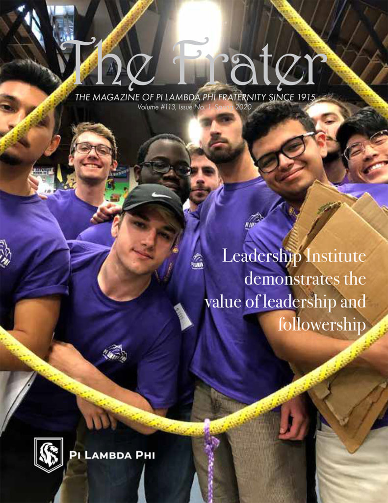 Frater 2020 cover