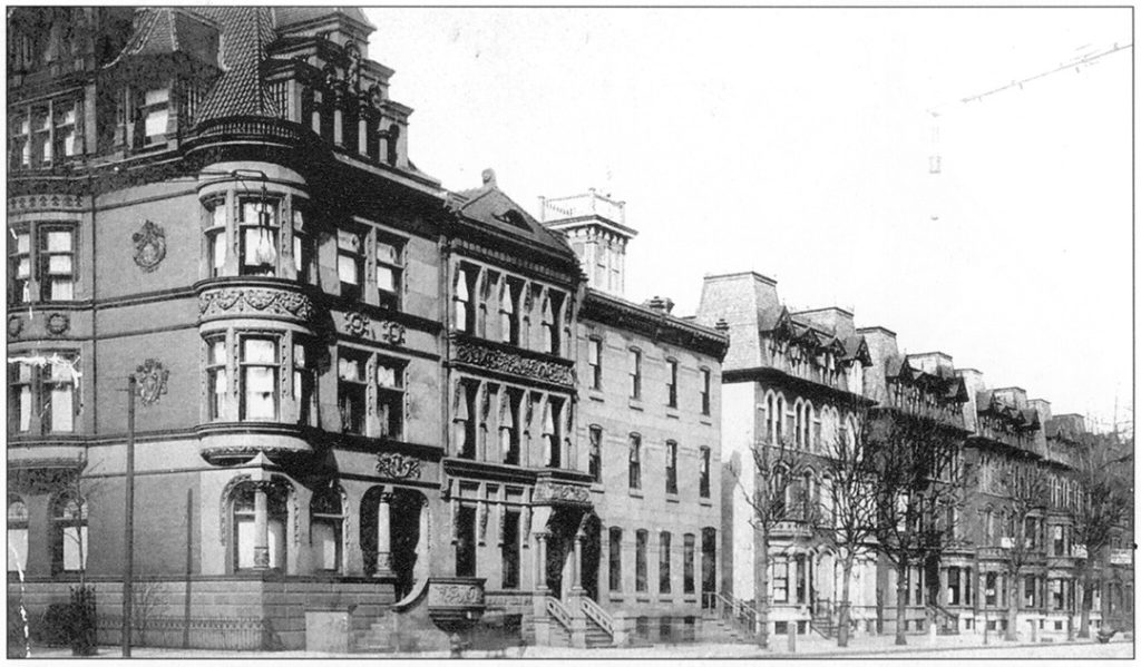 1907 Stafford Mansion with 4th Floor