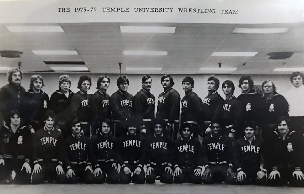 1975-76 Temple Wrestling