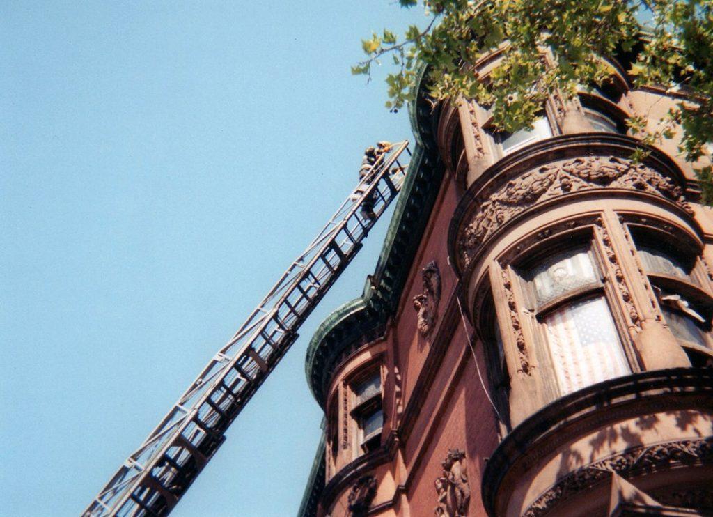 Fireman on 2000 North Broad